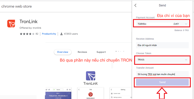 Hướng dẫn cách tải ví Tronlink