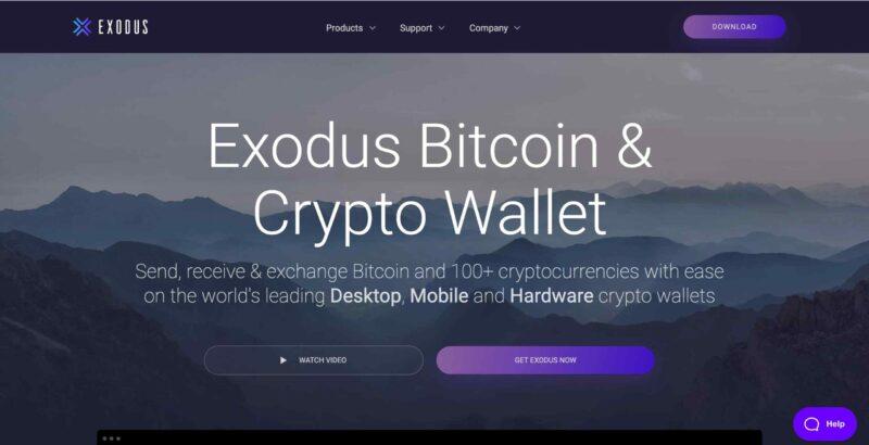Exodus là ví có dạng phần mềm dễ sử dụng